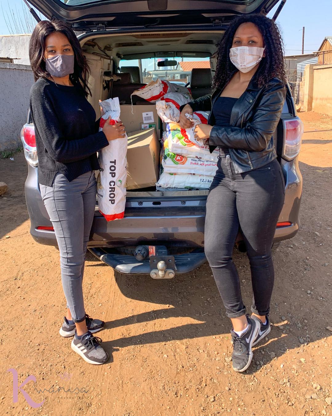 Kwanisa Foundation food drive2020